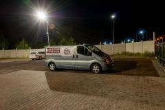 Parking 66 w Pyrzowicach - oświetlenie